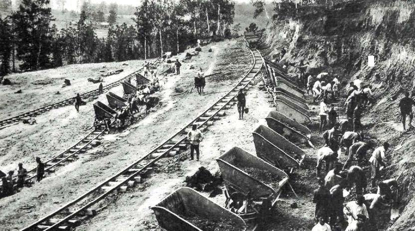 Строительство Транссибирской магистрали