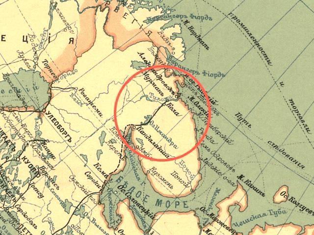 План Мурманской железной дороги