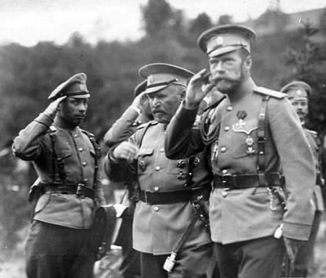 Николай Второй на фронте первой мировой войны