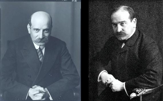 Братья Пол и Макс Варбурги