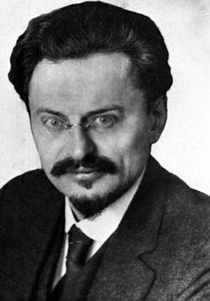 Л. Троцкий (Лейба Давидович Бронштейн)