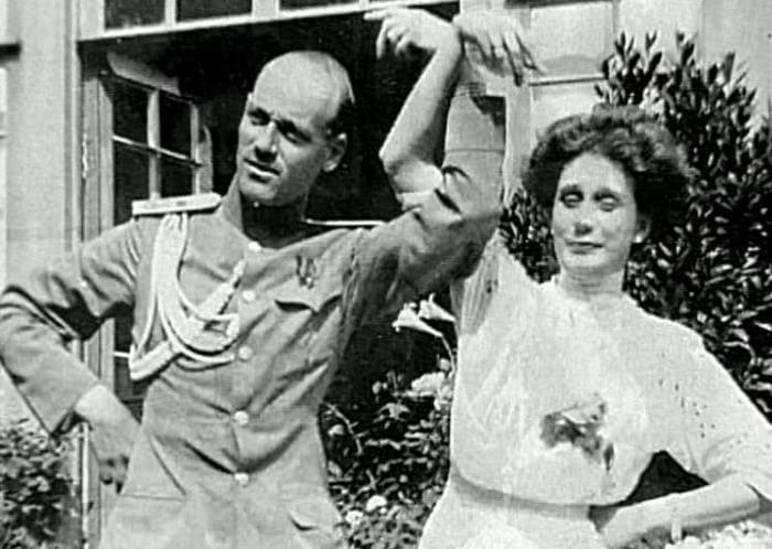 Великий князь Михаил Александрович и Наталья Сергеевна Брасова, бывш. Вульферт (урожд. Шереметьевская)