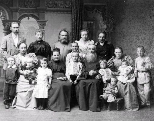 Александра Фёдоровна с детьми