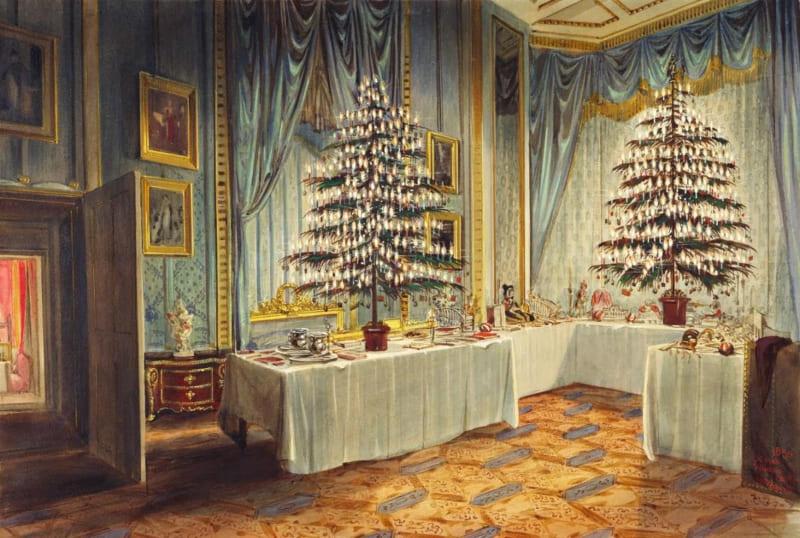 Рождество и Новый год в императорской семье