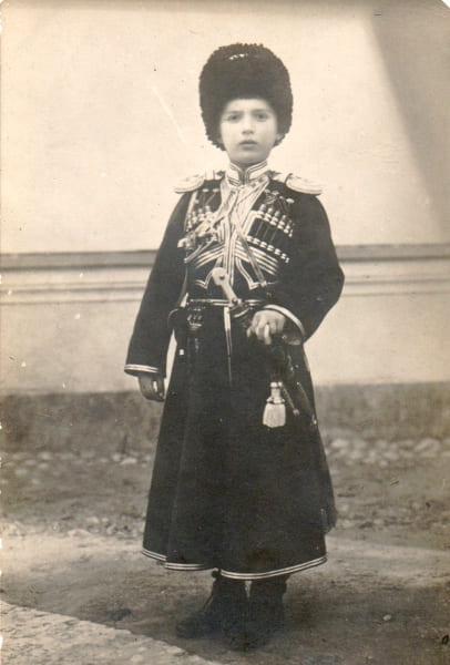 Цесаревич Алексей в казачьей форме